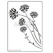 Sweet Poppy - Stencils - Cornflowers
