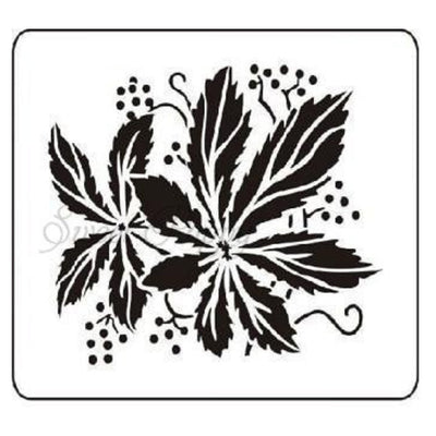 Sweet Poppy - Stencils - Leaves