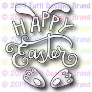 Tutti Designs - Dies - Happy Easter Bunny