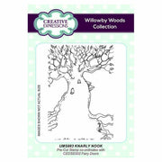 Creative Expressions Knarly Nook A6 Pre Cut Rubber Stamp