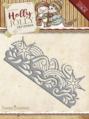 Yvonne Creations - Holly Jolly - Snowflake Border
