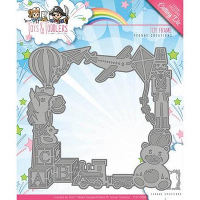 Yvonne Creations - Dies - Tots & Toddlers - Toy Frame