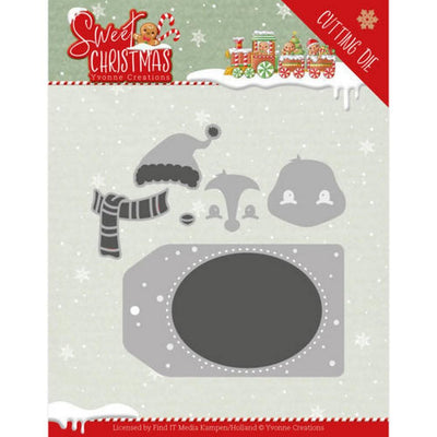 Yvonne Creations - Dies - Sweet Christmas - Sweet Penguin