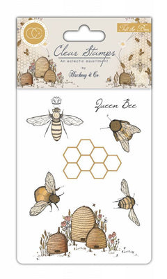 Craft Consortium - Clear Stamps - Tell the Bees