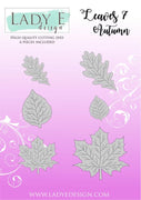 Lady E Design - Dies - Leaves 007
