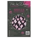 Pink Ink Designs A5 Clear Stamp Set - Shells