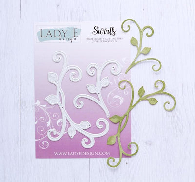 Lady E Design - Dies - Swirls