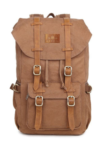 Trailblazer Backpack- Khaki - R A R E Company LLC