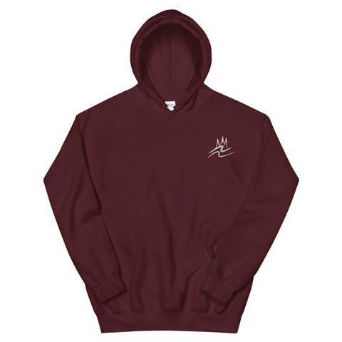 Wavy Embriodered Unisex Hoodie - R A R E Company LLC