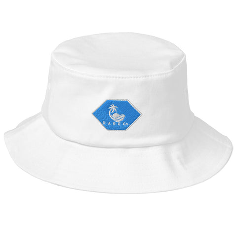 Old School Beachin' Blue Bucket Hat - R A R E Company LLC