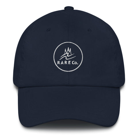 Wavy R A R E Co. Circled Dad Hat - R A R E Company LLC