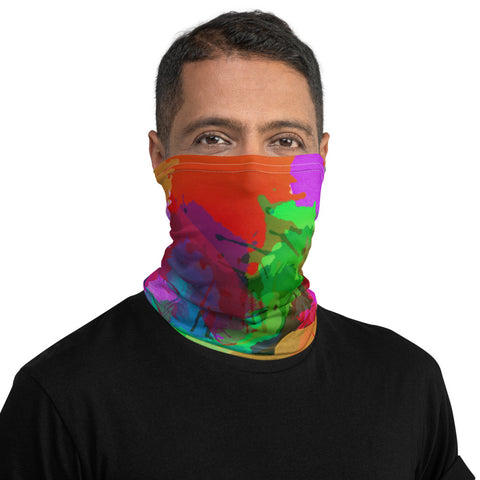Color Splash Neck Gaiter - R A R E Company LLC