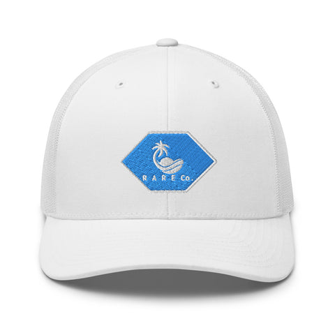 R A R E Co. Beachin' Blue Trucker Hat - R A R E Company LLC
