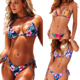maillot bain 2 pieces taille haute maillots maillots