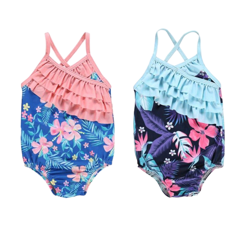 maillot bain 1 piece fille