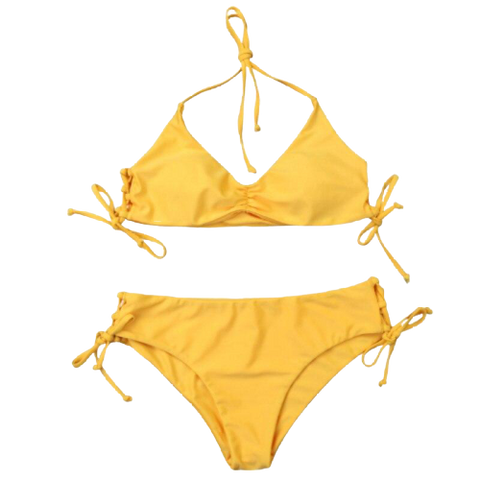 maillot bain 2 pieces triangle bandeau