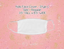 Load image into Gallery viewer, Mask Style C (KIDS) - Custom Listing