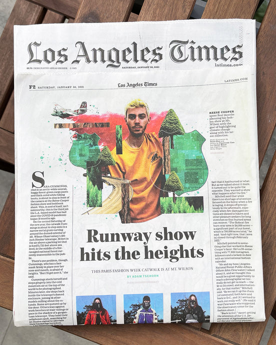 LA Times on the AW21 show