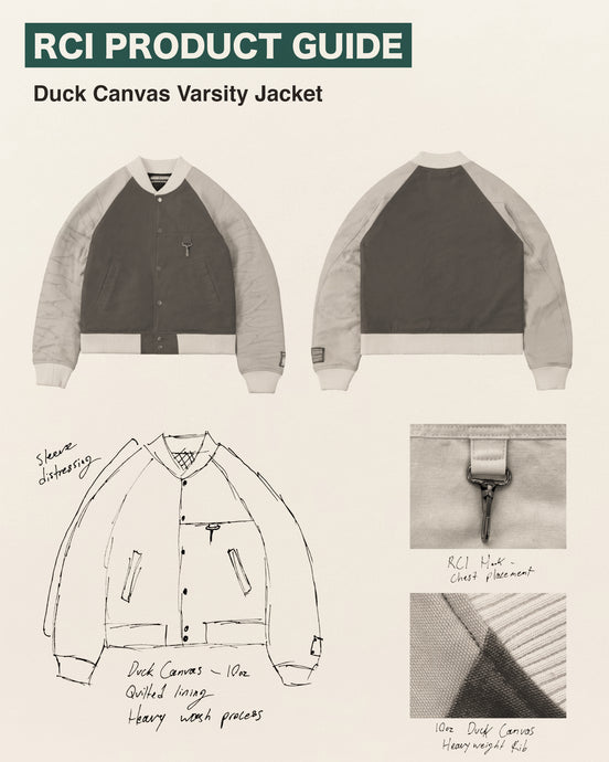 Duck Canvas Varsity Jacket