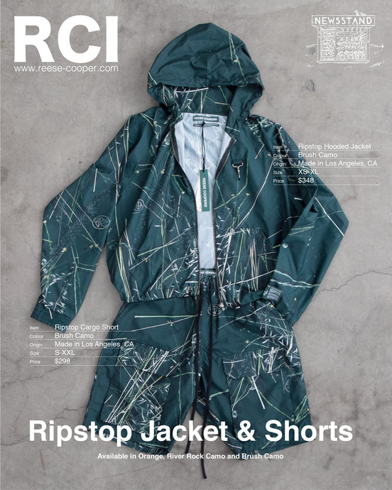 Ripstop Jackets & Shorts