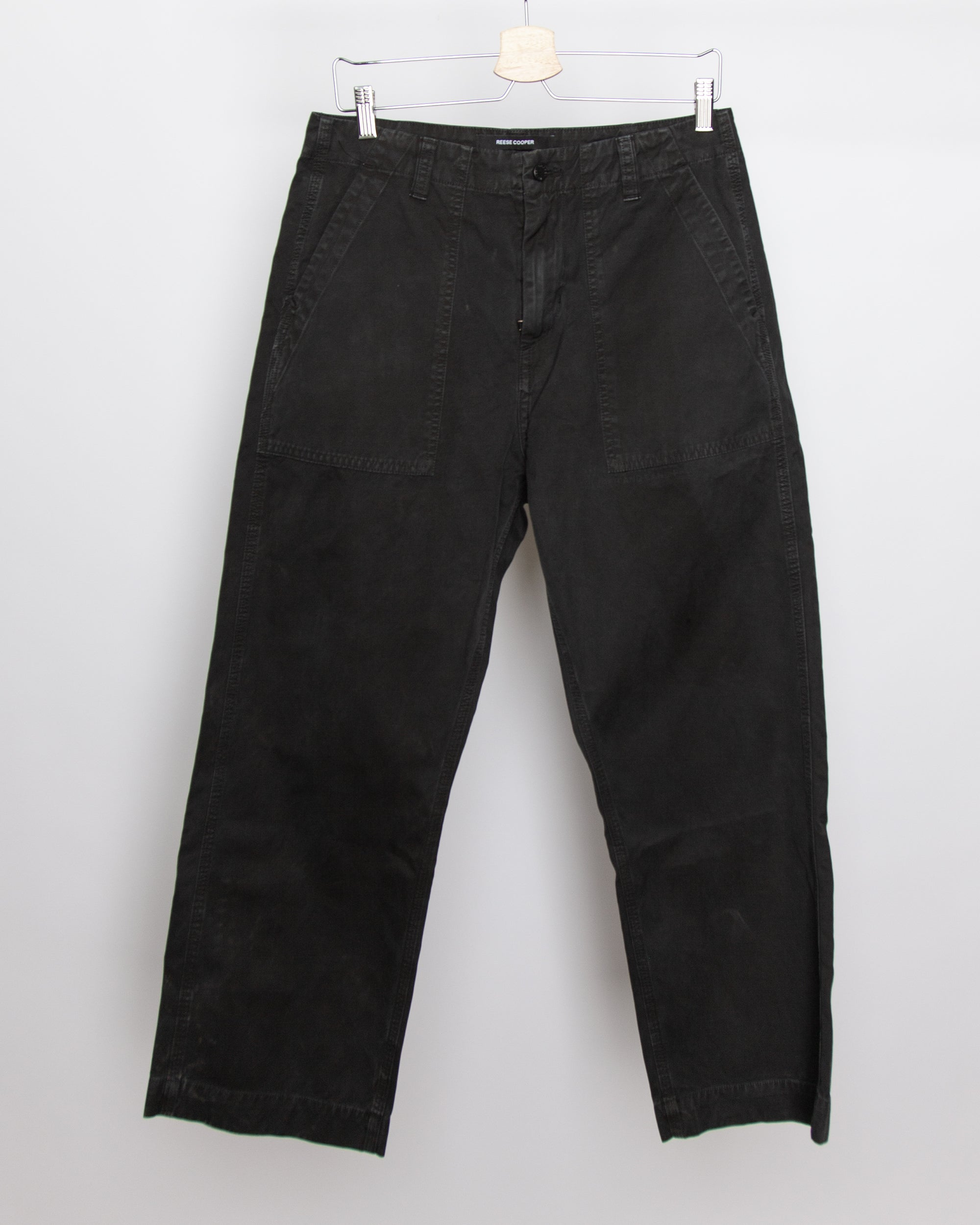 Against The Wind - Work Pant in Black