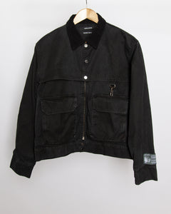 Against The Wind - Work Jacket in Black