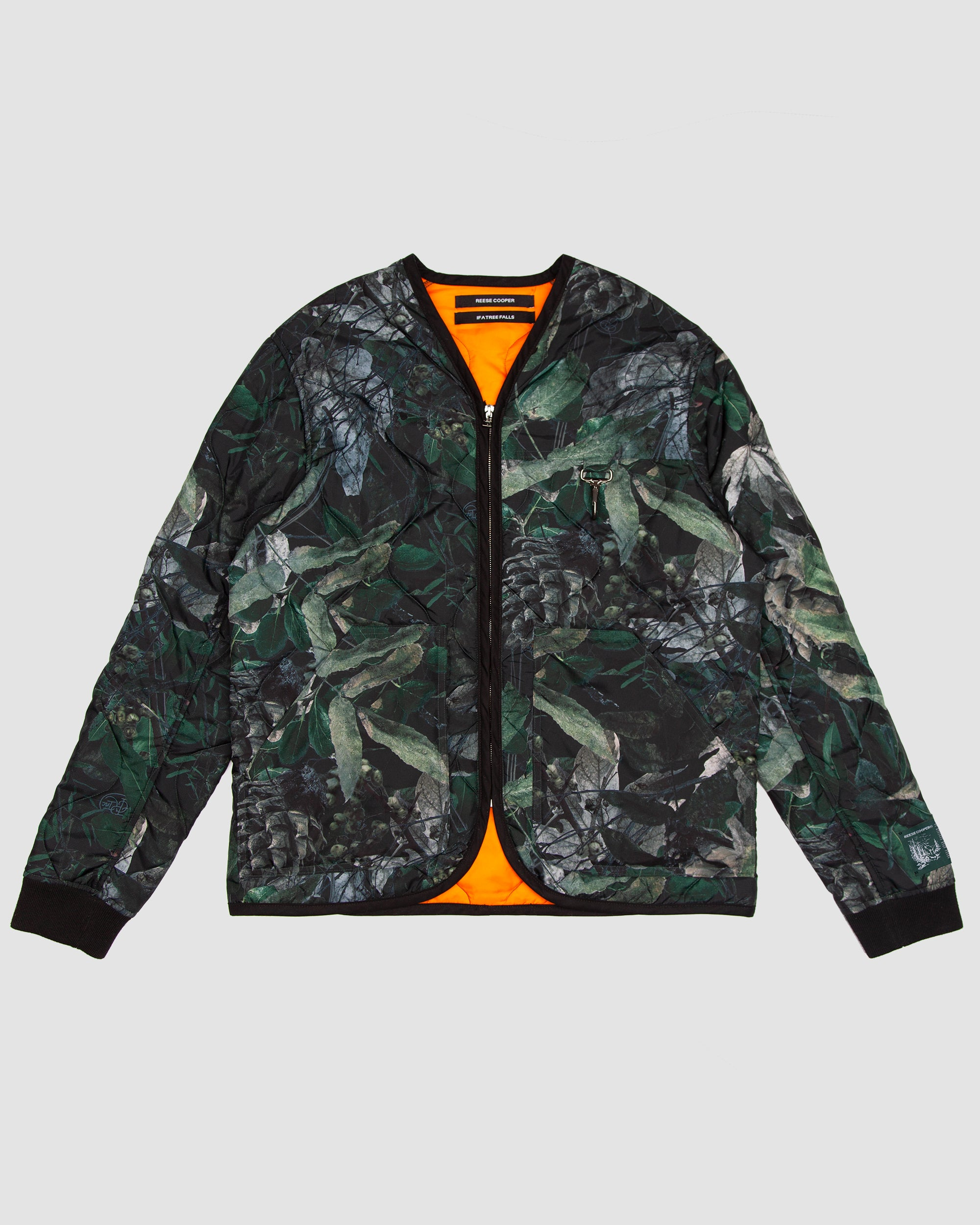 Camouflage Quilted Parka Liner