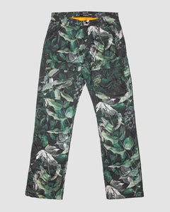 Camouflage Quilted Cargo Trouser