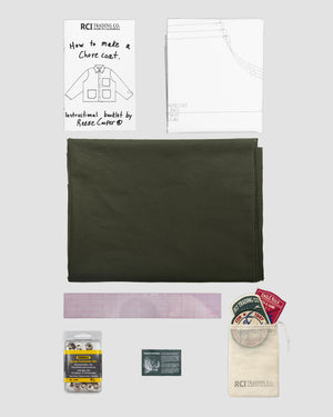 RCI Chore Coat Kit with Olive Cotton Twill