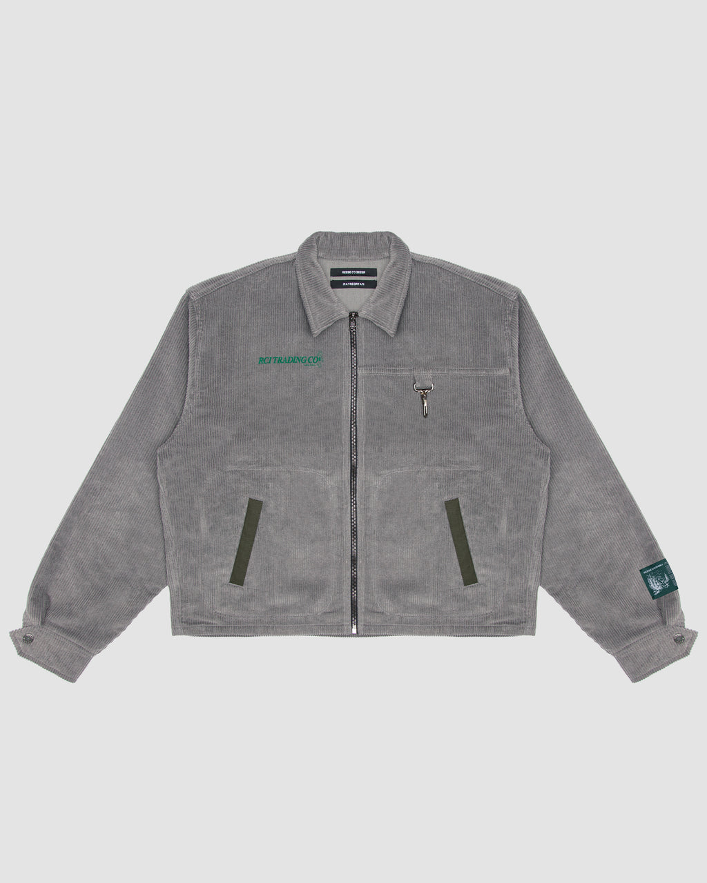 Corduroy Hunting Division Jacket in Grey
