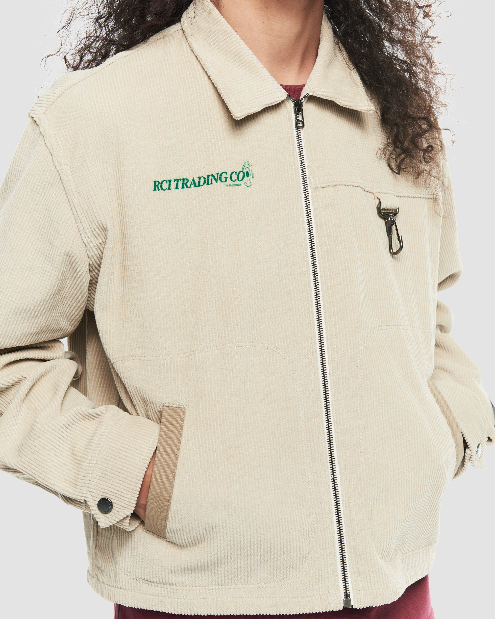 Corduroy Hunting Division Jacket in Khaki