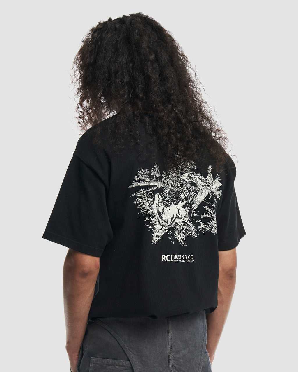 Hunting Division Tee Shirt in Black