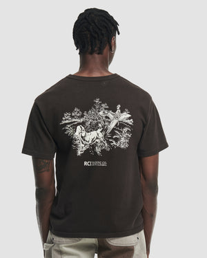 Hunting Division Tee Shirt in Brown
