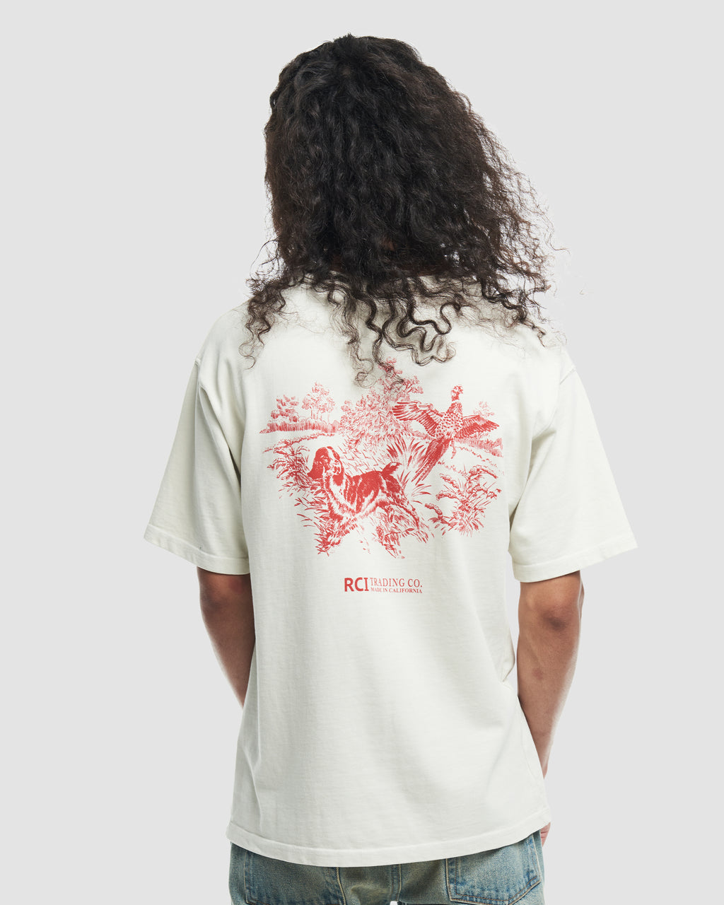 Hunting Division Tee Shirt in White