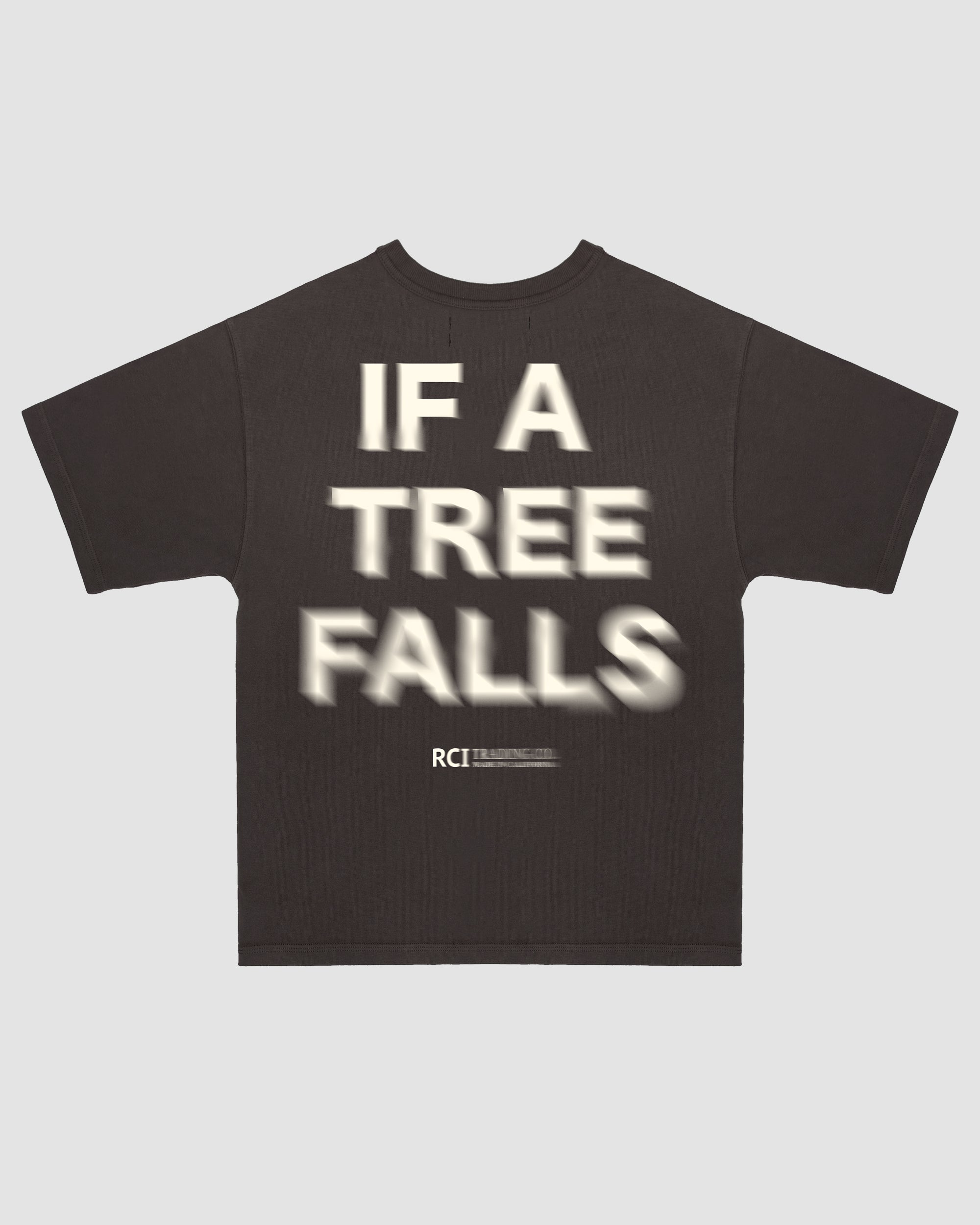 If A Tree Falls Tee Shirt in Brown