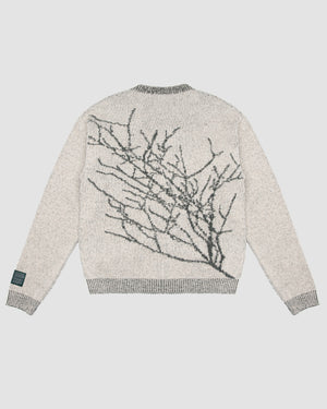 Branches Knit Sweater in Natural