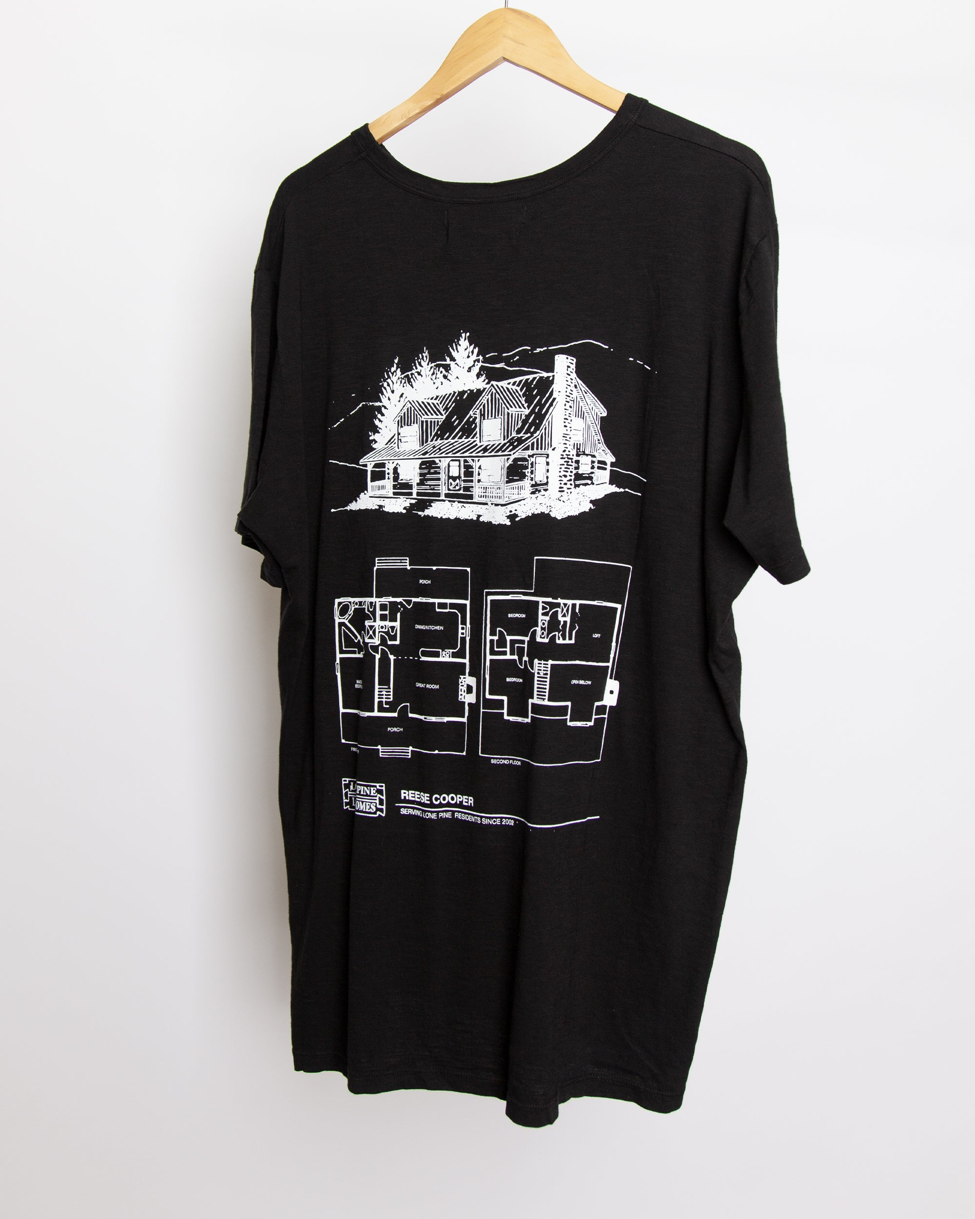 Lone Pine - Cabin Fever Tee Shirt in Black