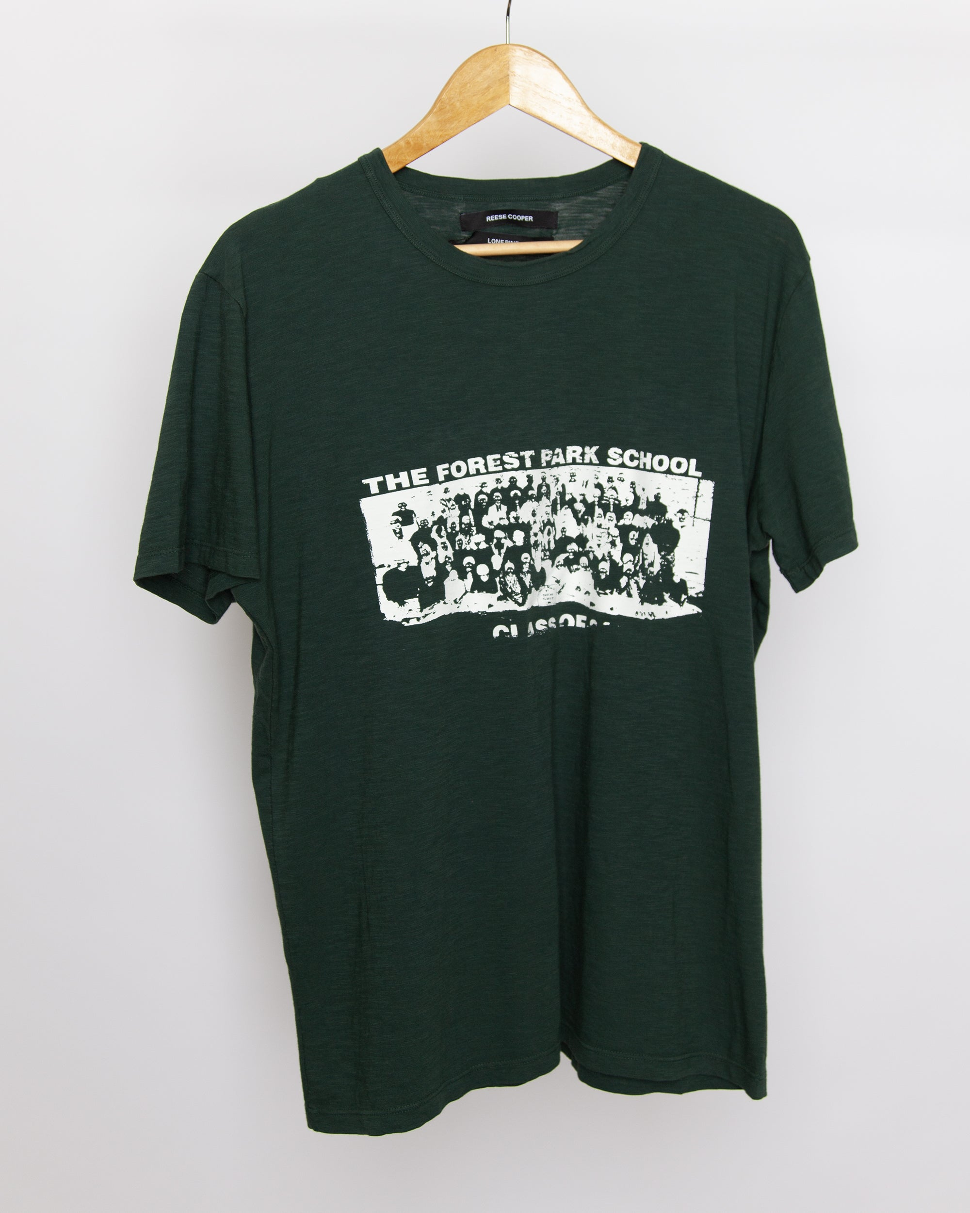 Lone Pine - Forest Park Tee Shirt in Forest