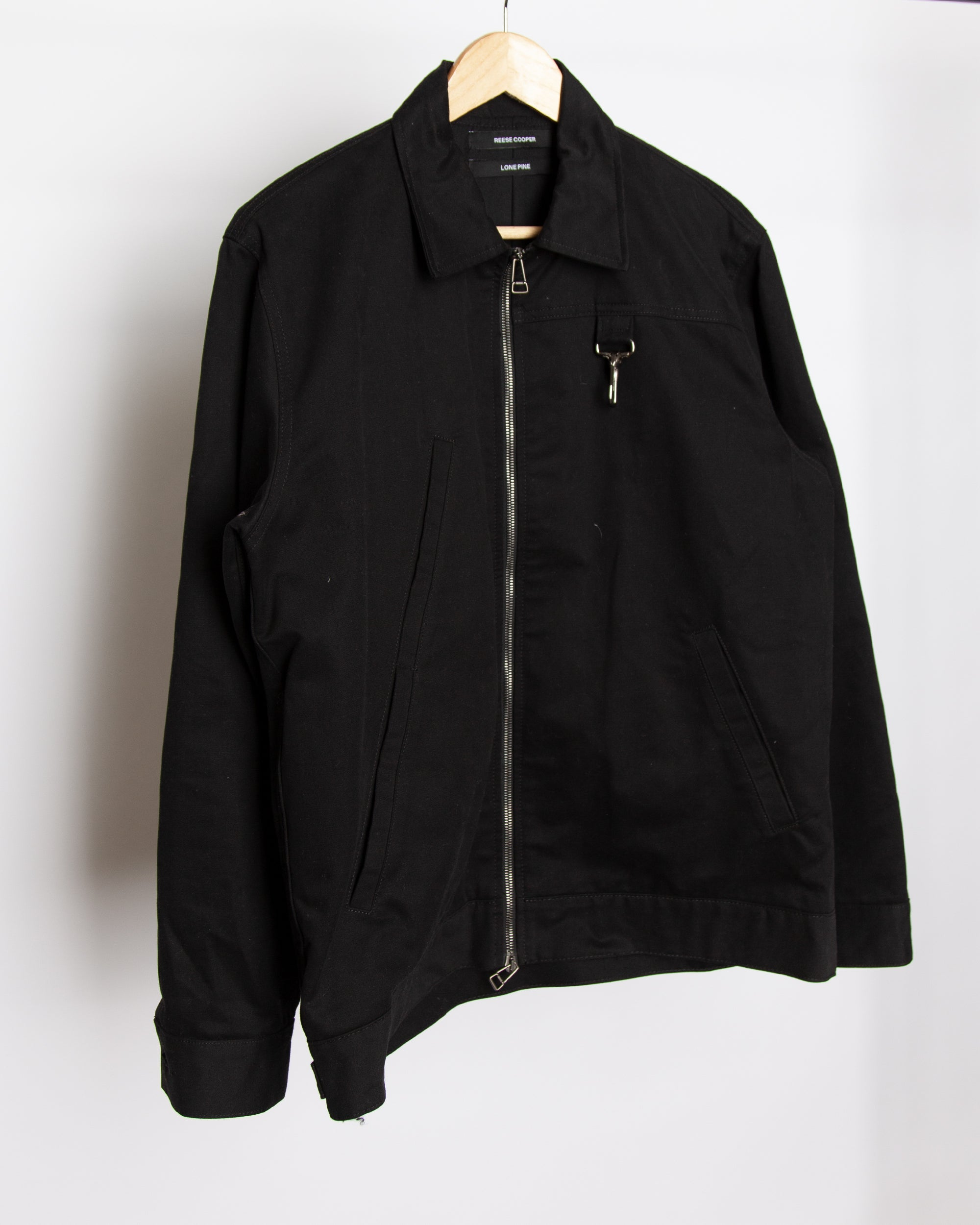 Lone Pine - Patches Work Jacket in Black