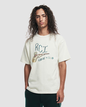 RCI Lodge & Club Tee Shirt in White