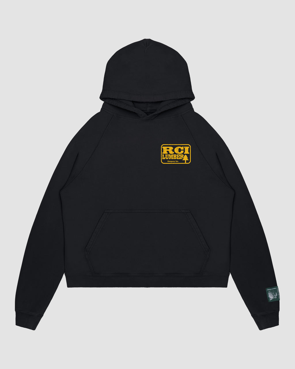 RCI Lumber Hooded Sweatshirt in Black