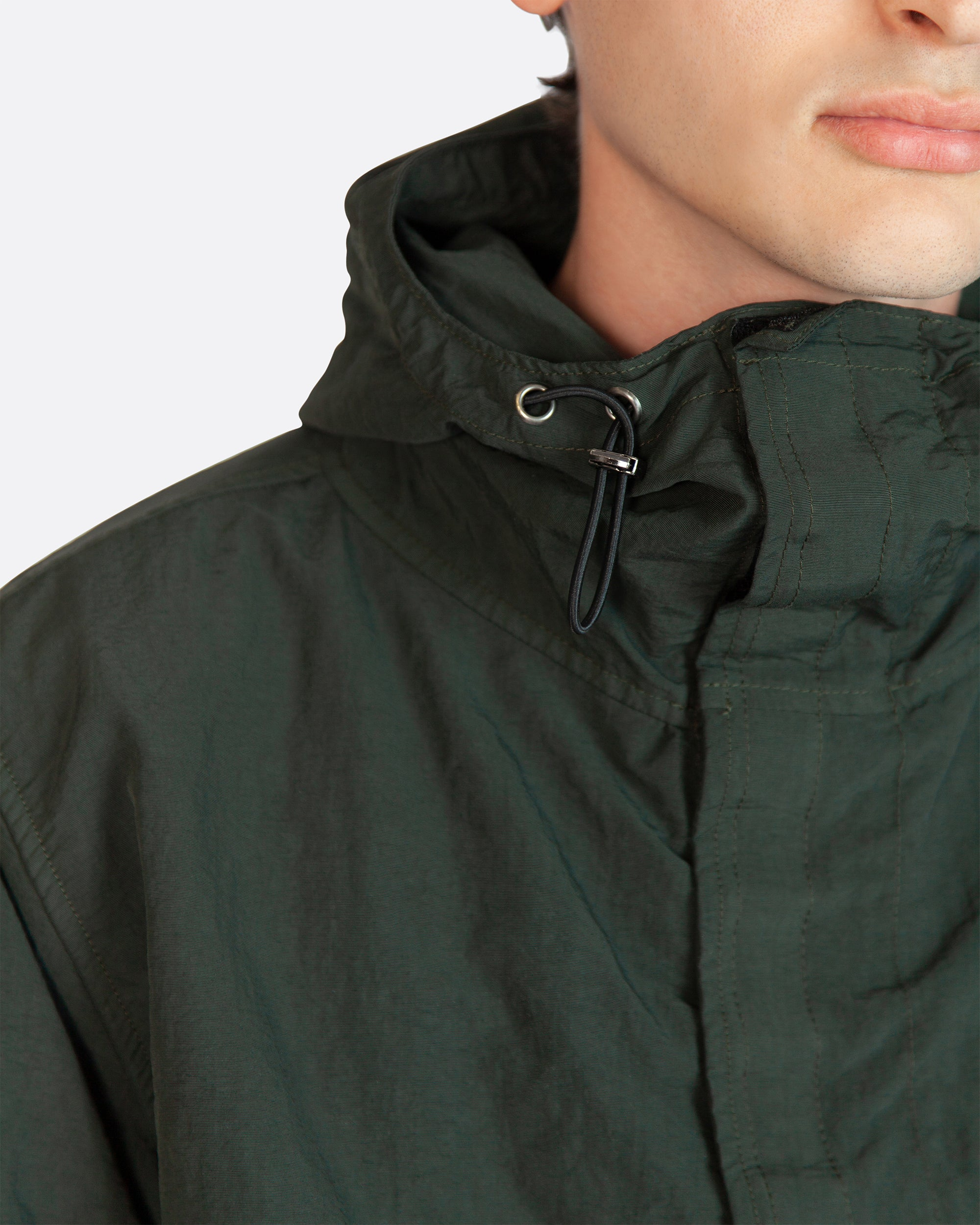 Nylon Wading Jacket in Green