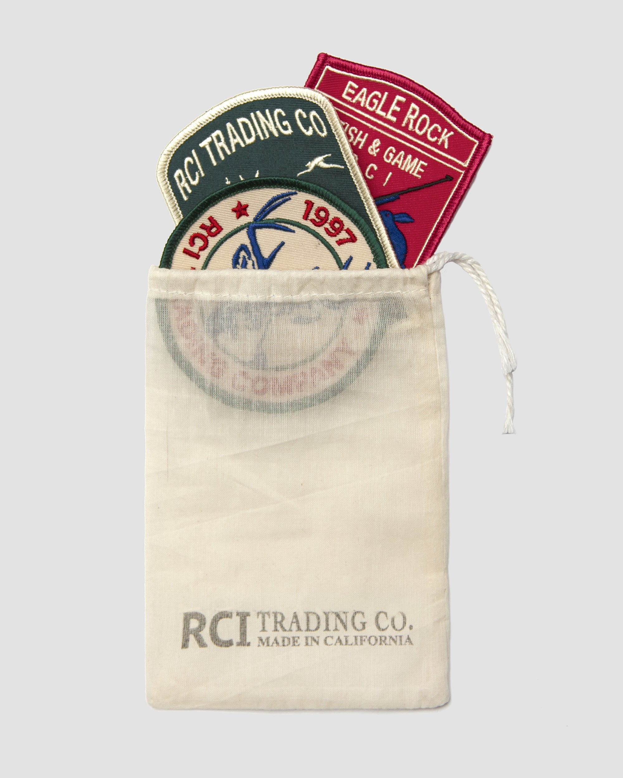 RCI Embroidered Patches (3 Pack)