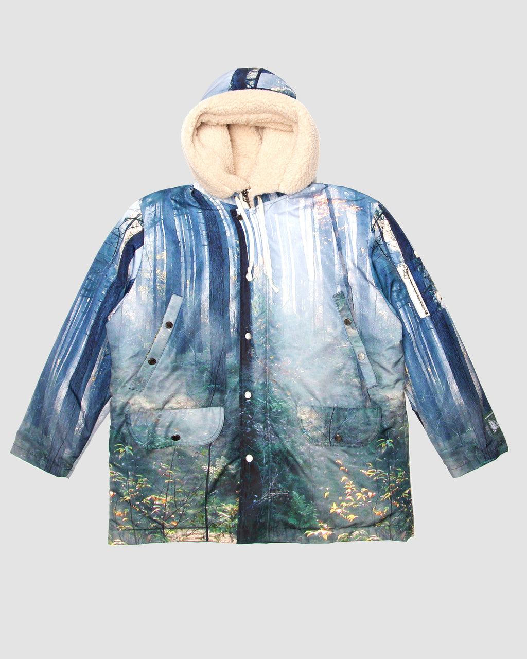 Forest Print Parka
