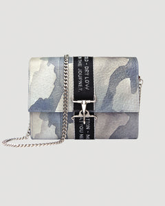 Water Colour Camo Cross Body Bag