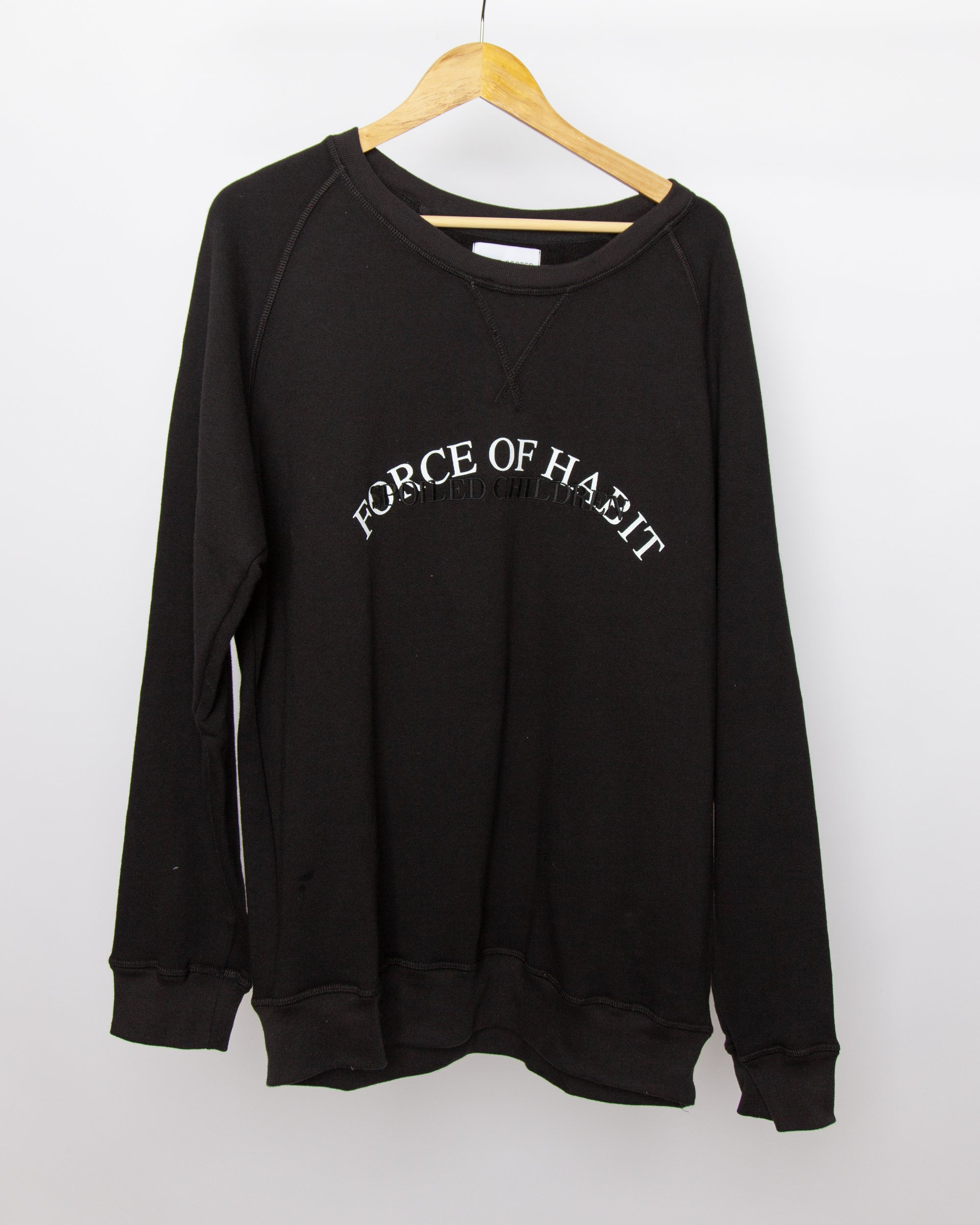 Spoiled Children - Force of Habit Sweatshirt in Black
