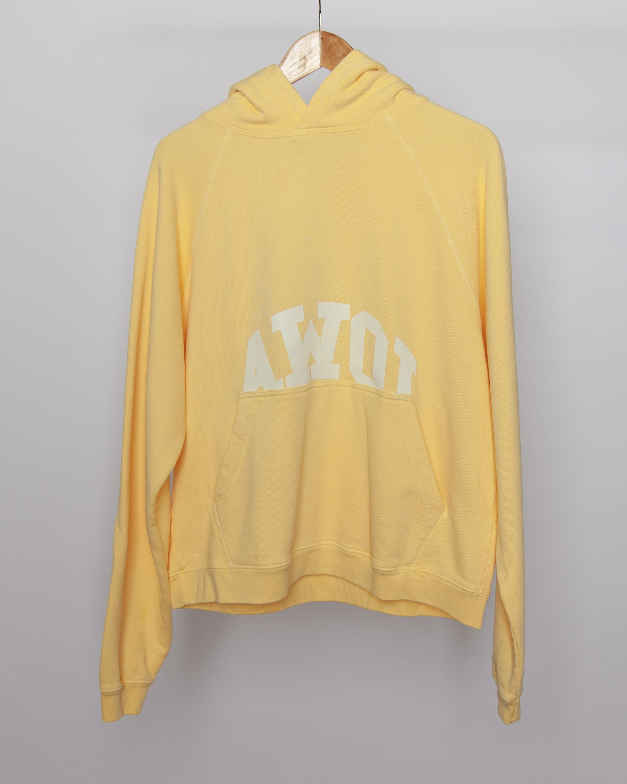Fever Dream - AWOI Hoodie in Yellow
