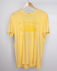 Fever Dream - Hollywood Tantrum Tee Shirt in Yellow