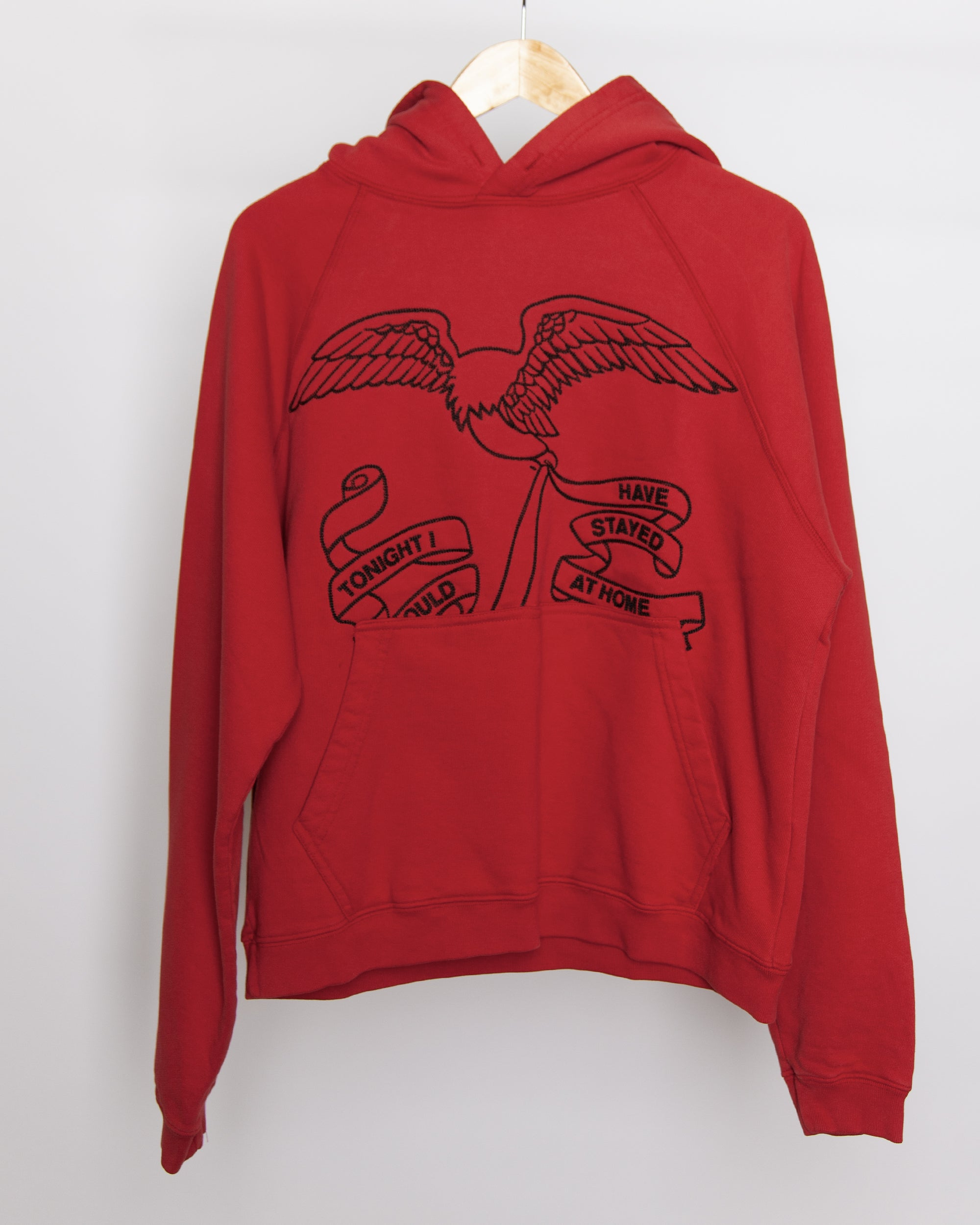 Fever Dream - Eagle Hoodie in Red