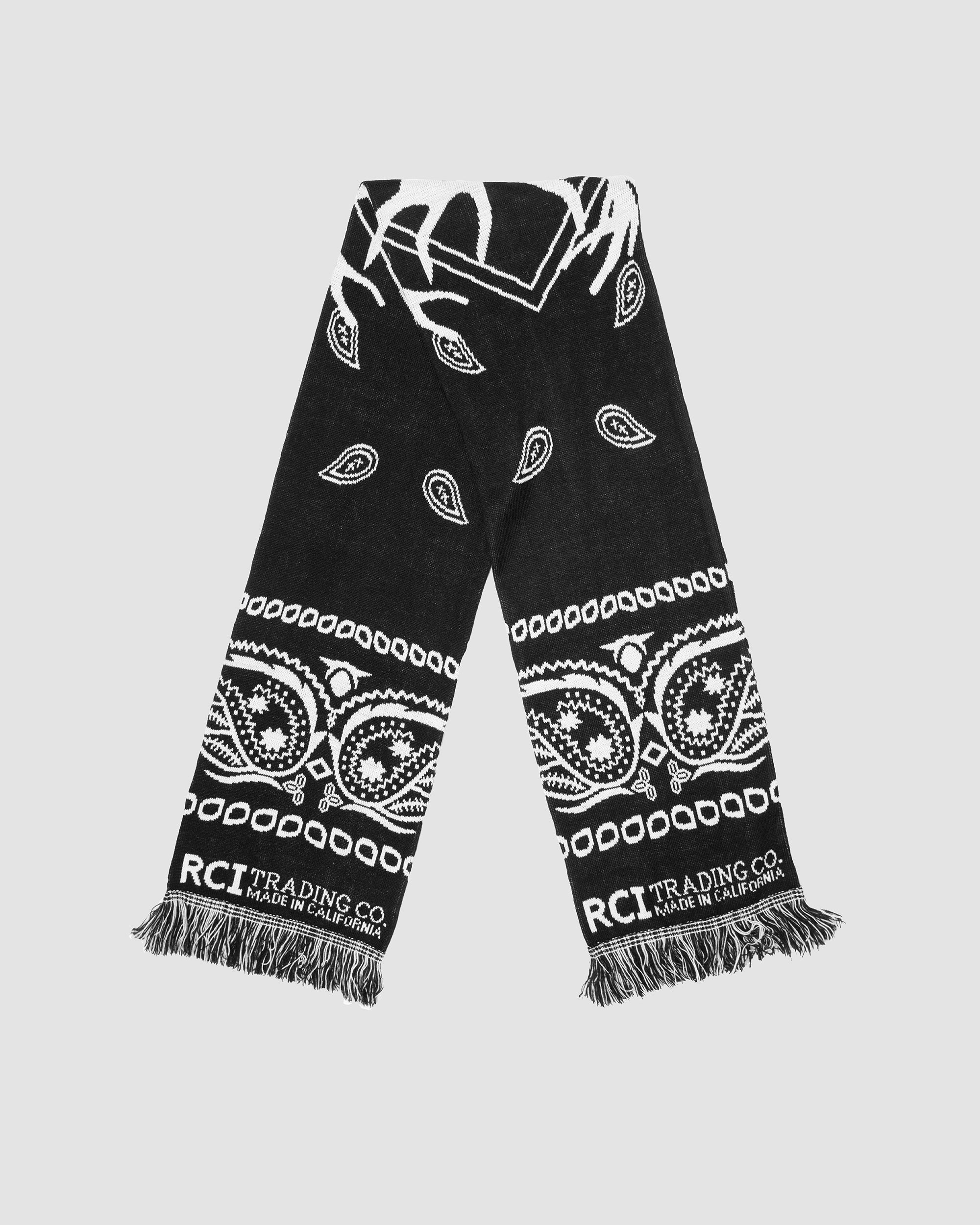 Bandana Scarf in Black